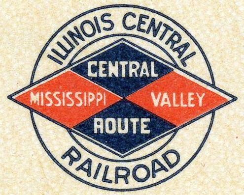 illinois central rr mississippi valley central route