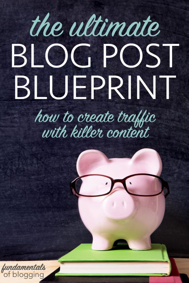 The Ultimate BluePrint for How to Write a Blog Post Blogging, Blog - change management plan template