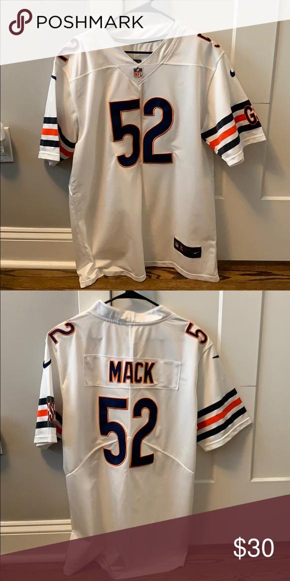 quality design 12940 429d8 Nike Khalil Mack Bears Jersey Bears Away Jersey, Large ...