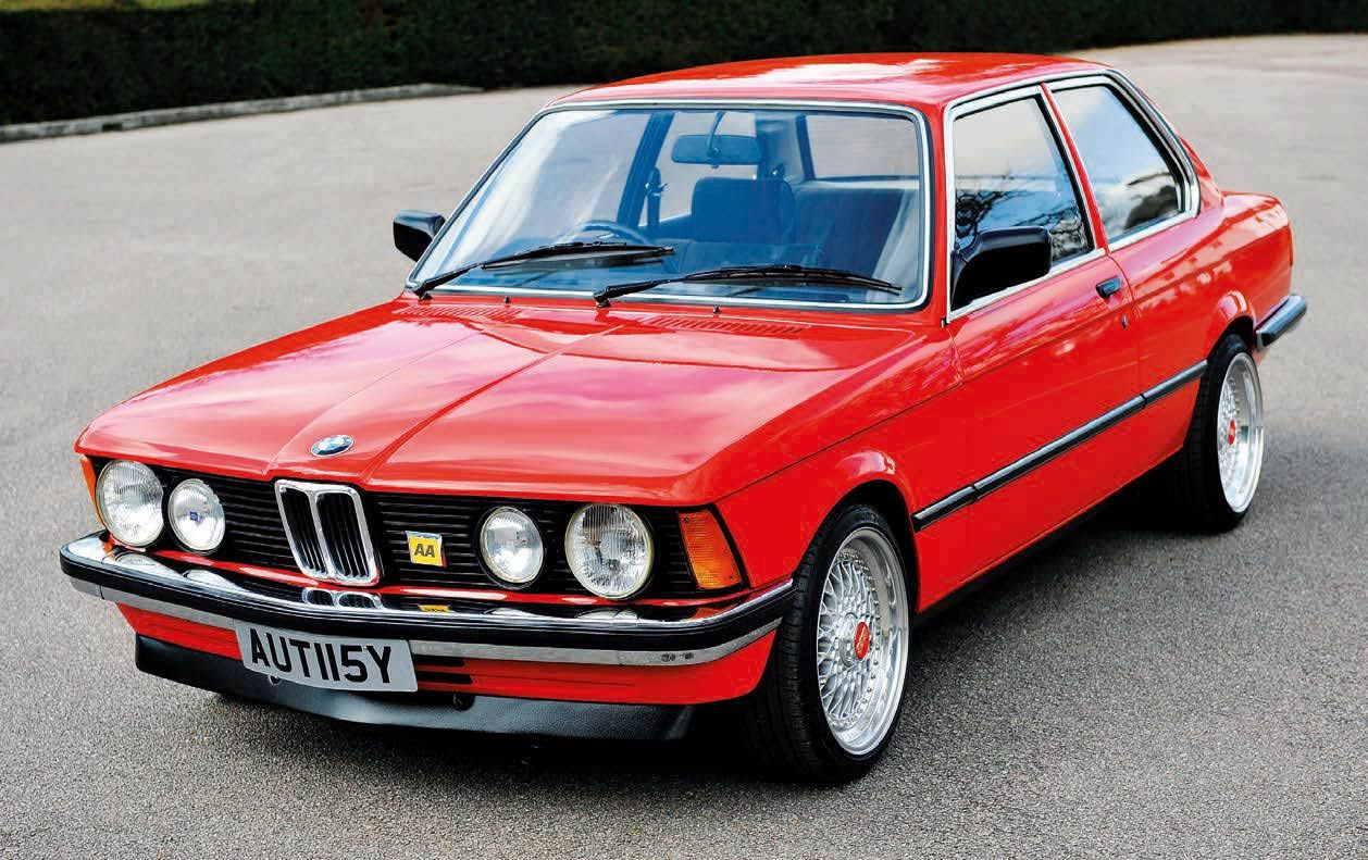 Red E21 With Images Bmw Bmw E21 Bmw Vintage