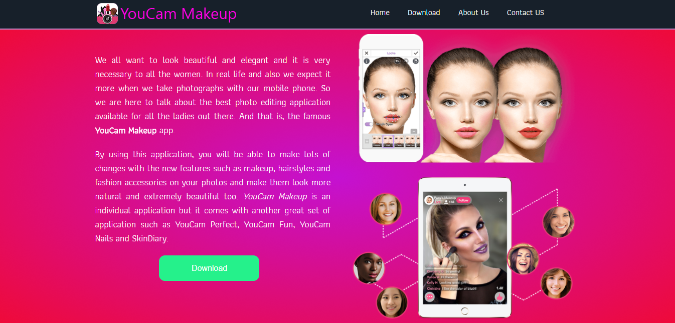 Youcam makeup for laptop free download | Download YouCam Makeup