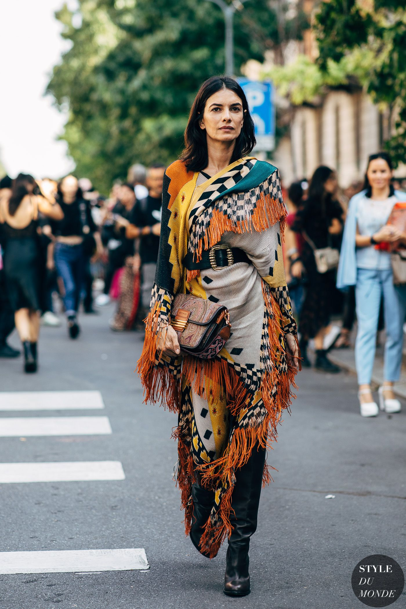 Milan SS 2019 Street Style: Leila Yavari - STYLE DU MONDE   Street Style Street Fashion Photos Leila Yavari