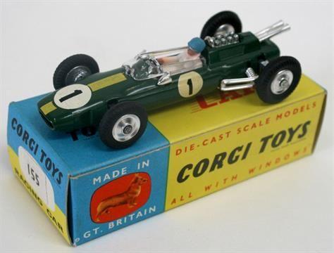 af64e8aae805 Corgi Toys  155 Lotus Climax Formula 1 Racing Car