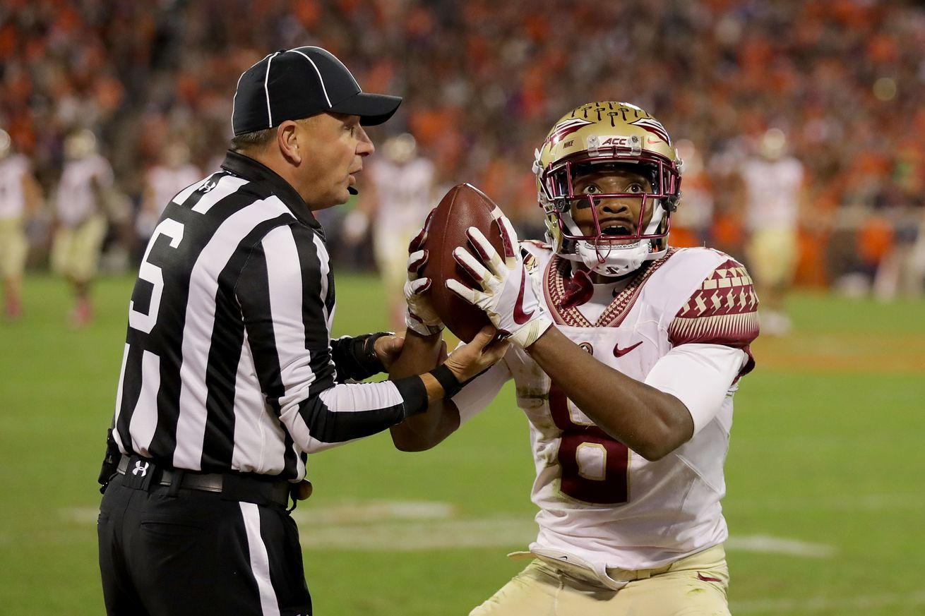 Florida State Starting Receiver To Miss Second Half Vs Ulm With Injury Florida State Football Florida State Florida State Seminoles