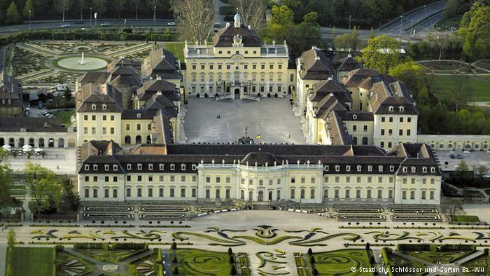 Людвигсбургская резиденция (Residenzschloss Ludwigsburg) относится к
