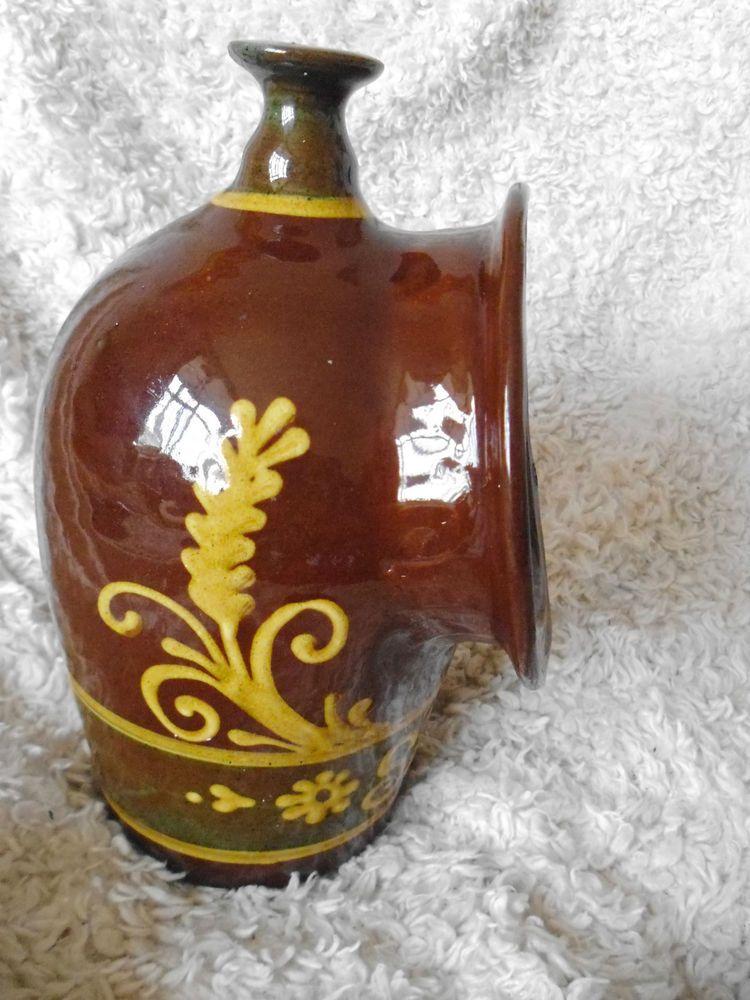 Barbara winrow slipware salt pig decorative pottery