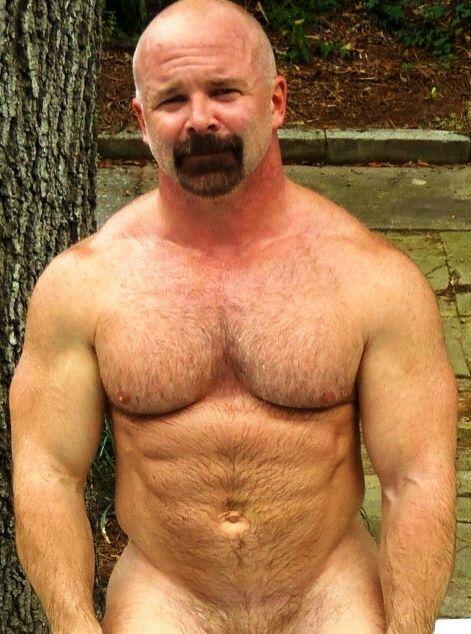 Furry Muscle Hunks