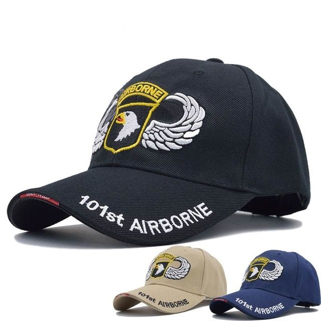 Tactical Hat Army Military Sport AirSoft Cap 101st Airborne Division Bone  Snapback Hat Hunting Hiking Fishing Cap Gorras Review cc3093c158ea