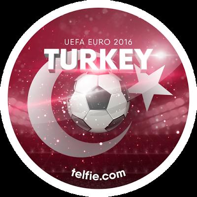 New TELFIE App Stickers For UEFA EURO 2016: TURKEY