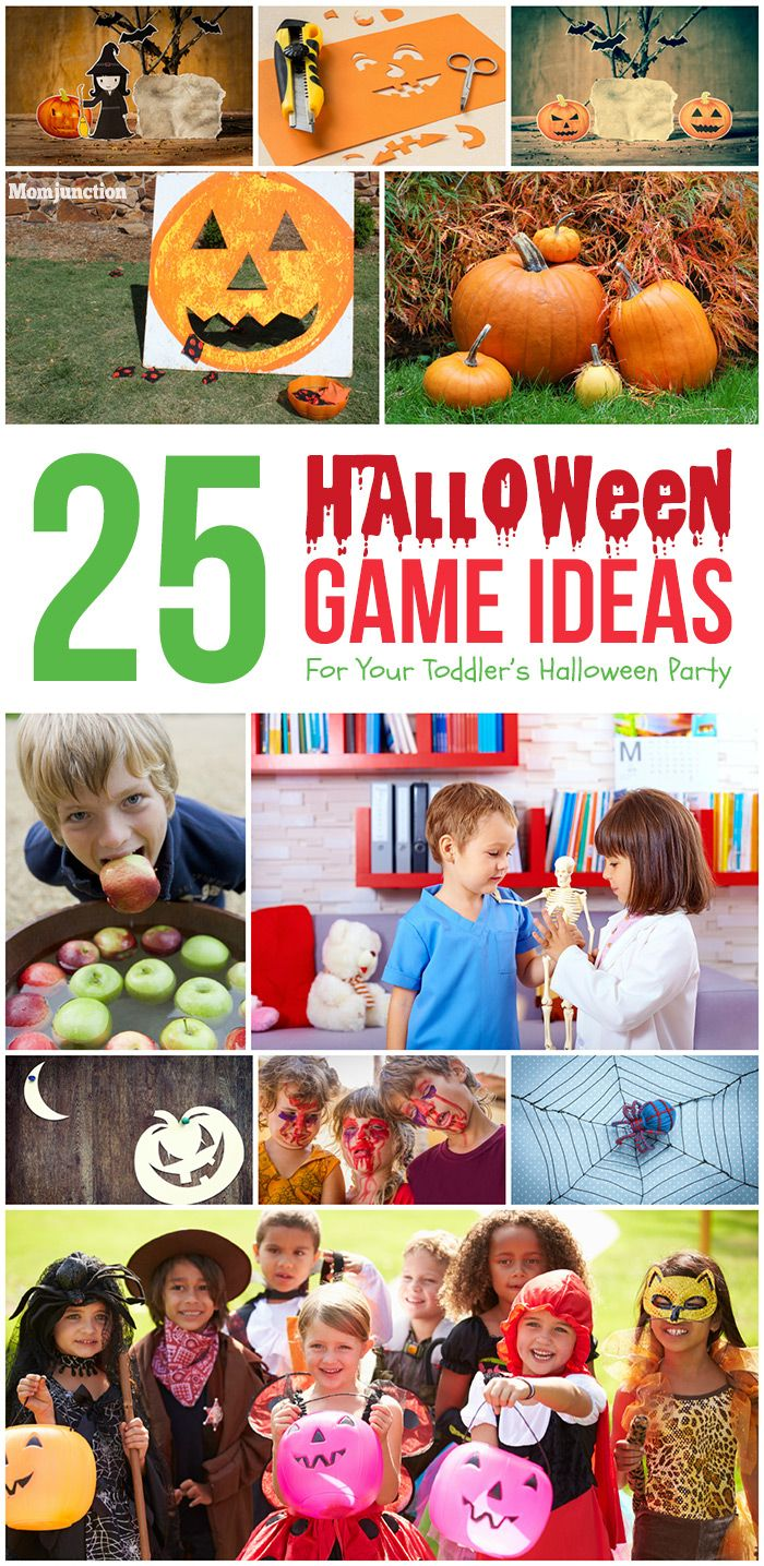 25 Fun Halloween Game Ideas For Your Toddler's Halloween Party ...