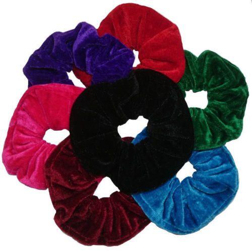 10pcs-Womens-Velvet-Hair-Band-Elastic-Ponytail-Tie-Scrunchie-Bow-Rubber- Bobbles 48a3938df2c