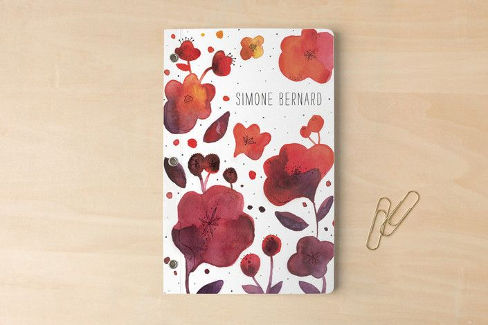 Blossom Dearie Day Planner, Notebook, or Address Book by Pistols at minted.com