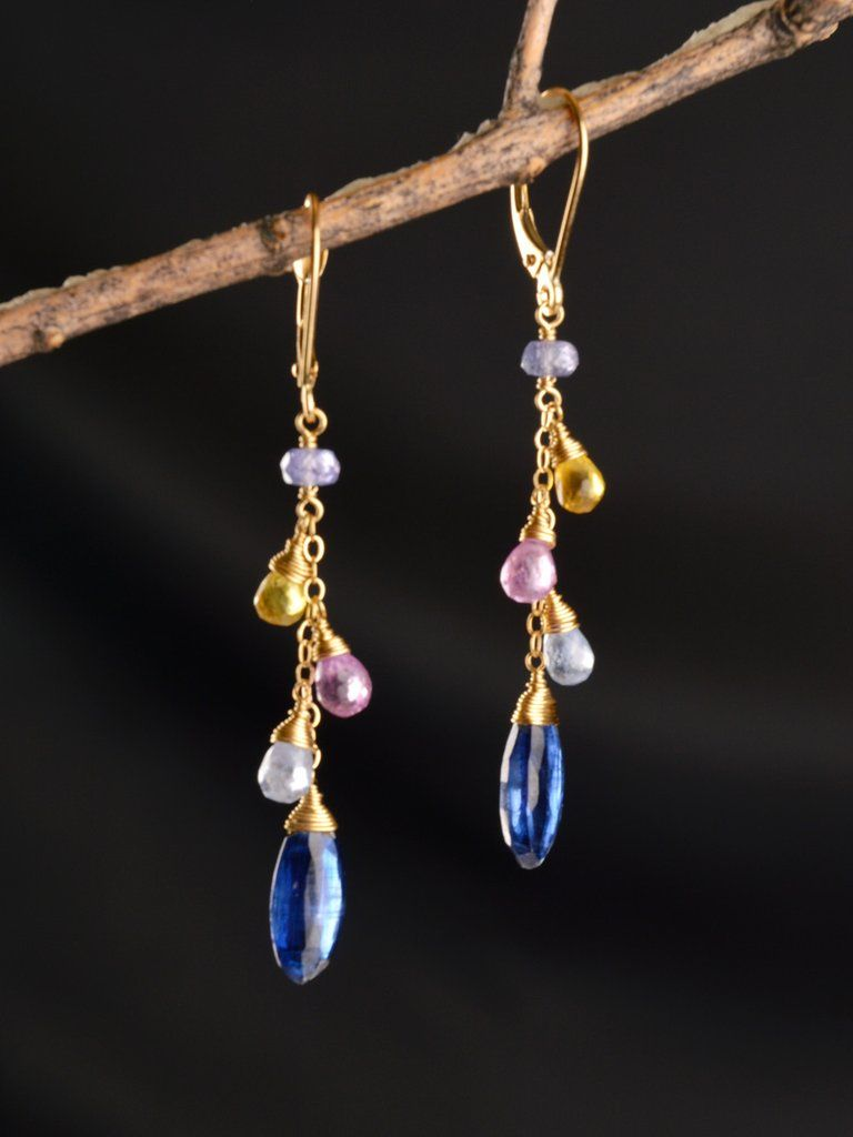 d2ac9e4af 18kt Celestial Drop Earrings | Other jewelry
