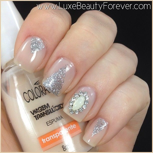 Instagram photo by luxebeautyforever  #nail #nails #nailart