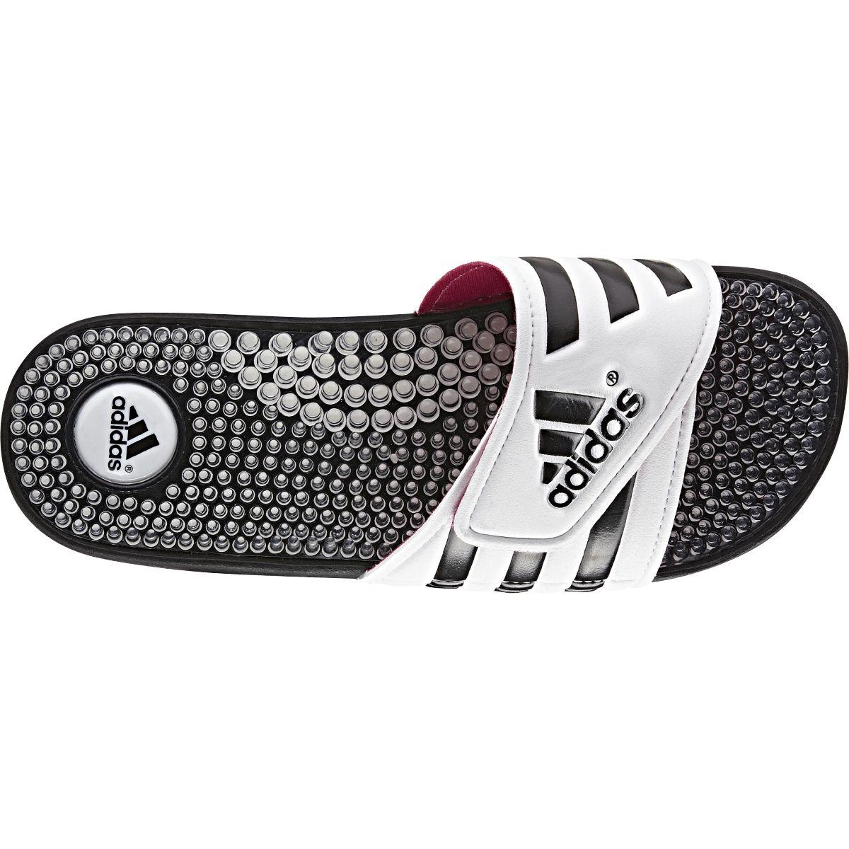 6f5416284 adidas Women s Adissage Fade Slide Sandals - White Black Pink ...