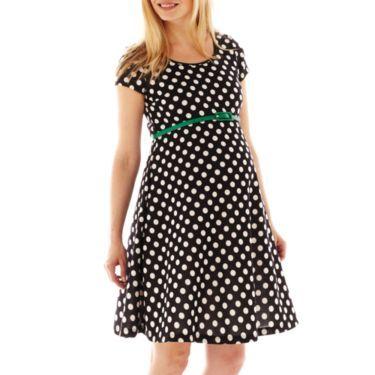 30e4c7140 Polka Dot Belted Dress - JCPenney