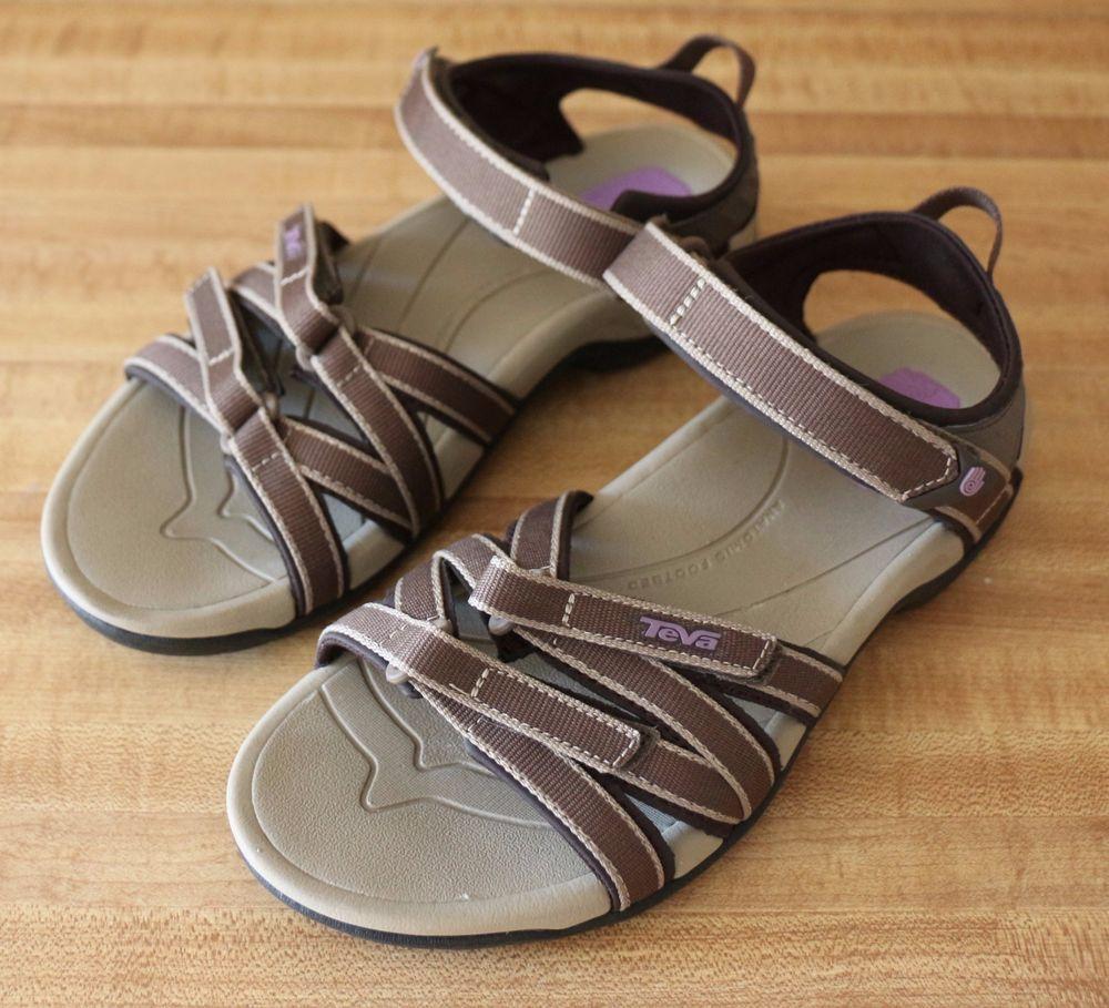 9a0b3c111369 Teva Tirra Womens Athletic Sandal Purple Brown Black Straps Size 7 M US   Teva  SportSandals