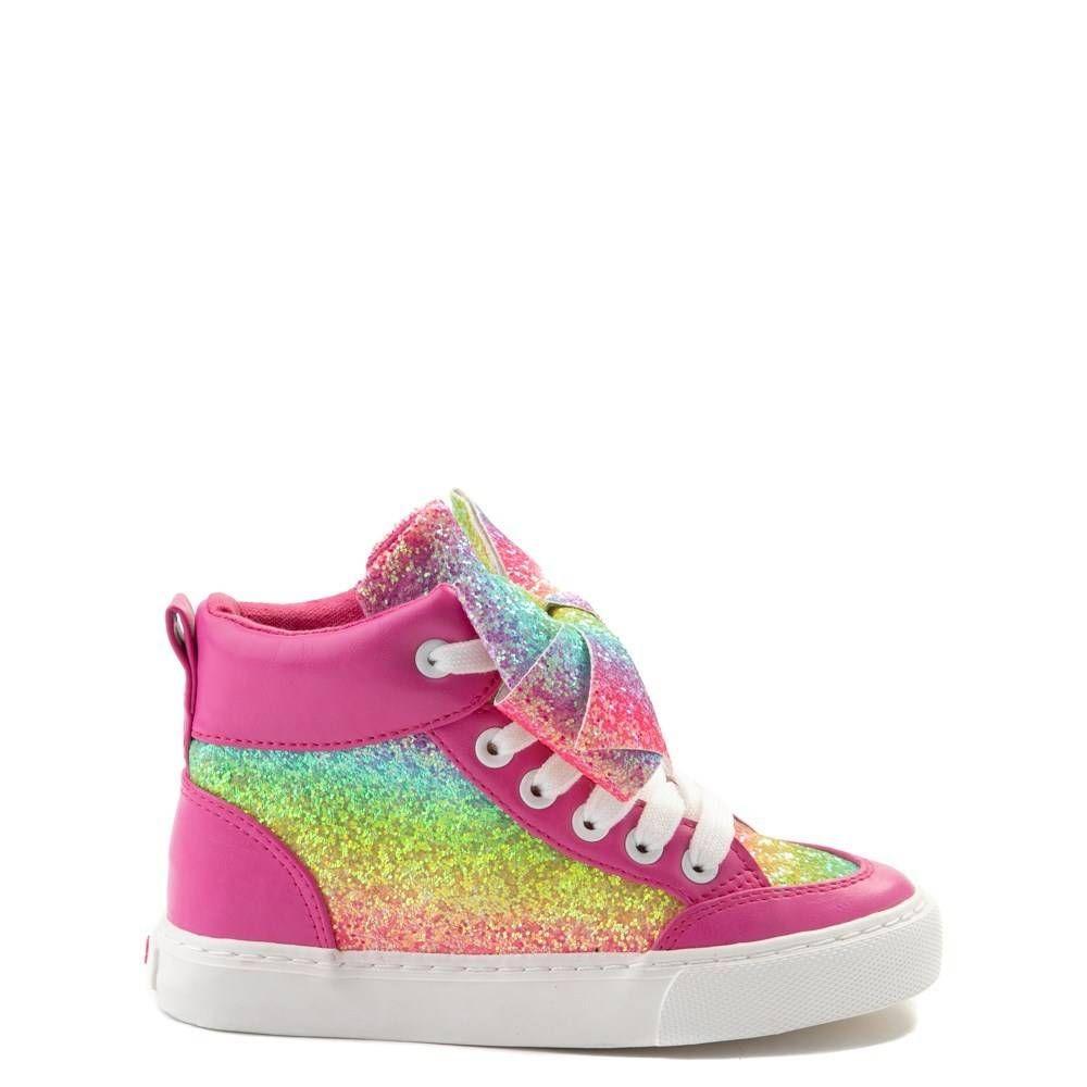 JoJo Siwa\u0026trade; Glitter Bow Hi Sneaker