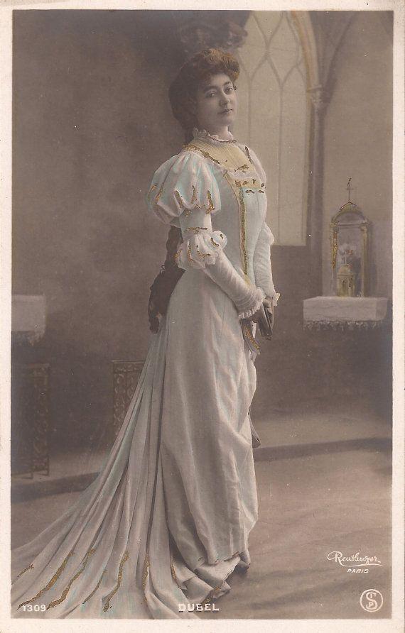 1900s Belle Epoque French Reutlinger Artist Dubel