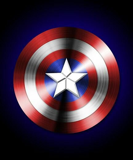 Captain America Shield Made In Photoshop Currently My Wallpaper