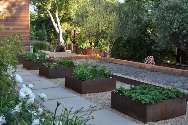 22 Fabulous Container Garden Design Ideas For Beautiful Balconies And Backyard Landscaping Modern Garden Modern Landscaping Backyard Landscaping