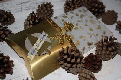 Weihnachtliche Pillowbox