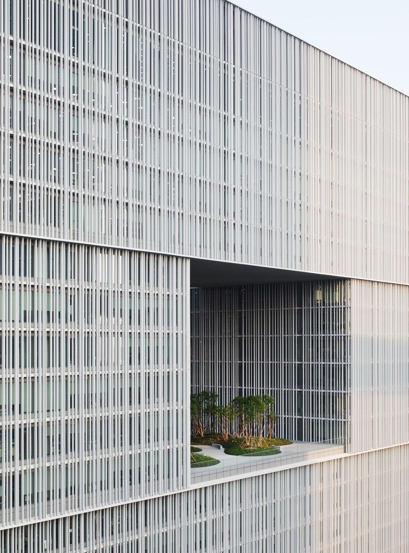 Aluminium für die Schönheit - Hochhaus von David Chipperfield Architects in Seoul #arquitectonico