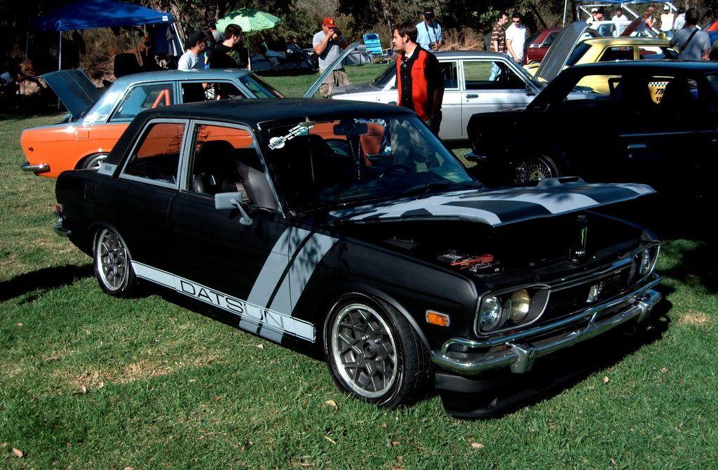 Datsun 510 link below   http://hooniverse.com/wp-content/uploads/2009/10/datsun-510-10.jpg