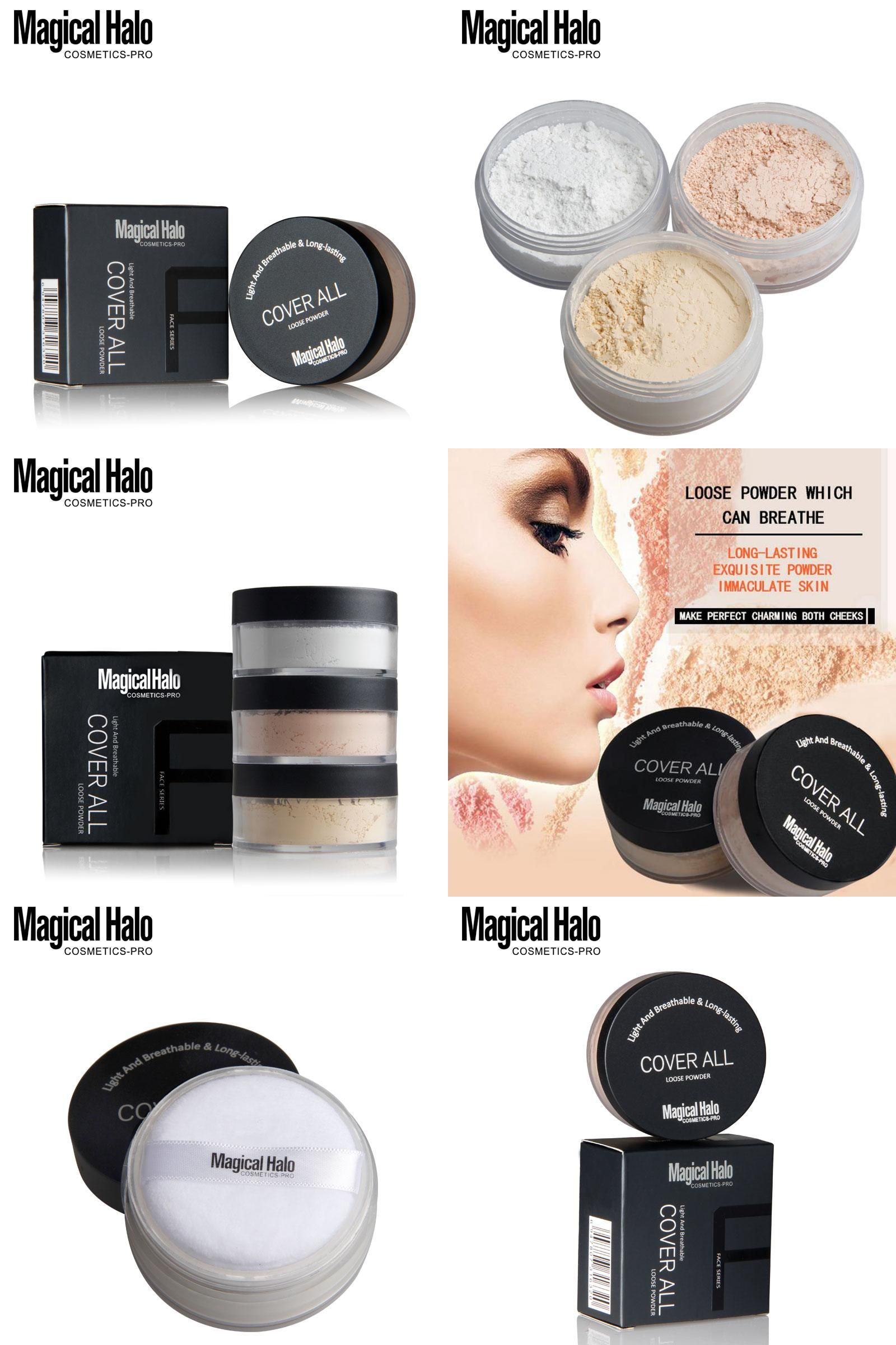 [Visit to Buy] brand makeup luxury new loose powder loose