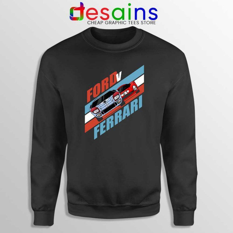 Ford Vs Ferrari Poster Sweatshirt Film Ford V Ferrari Sweater S