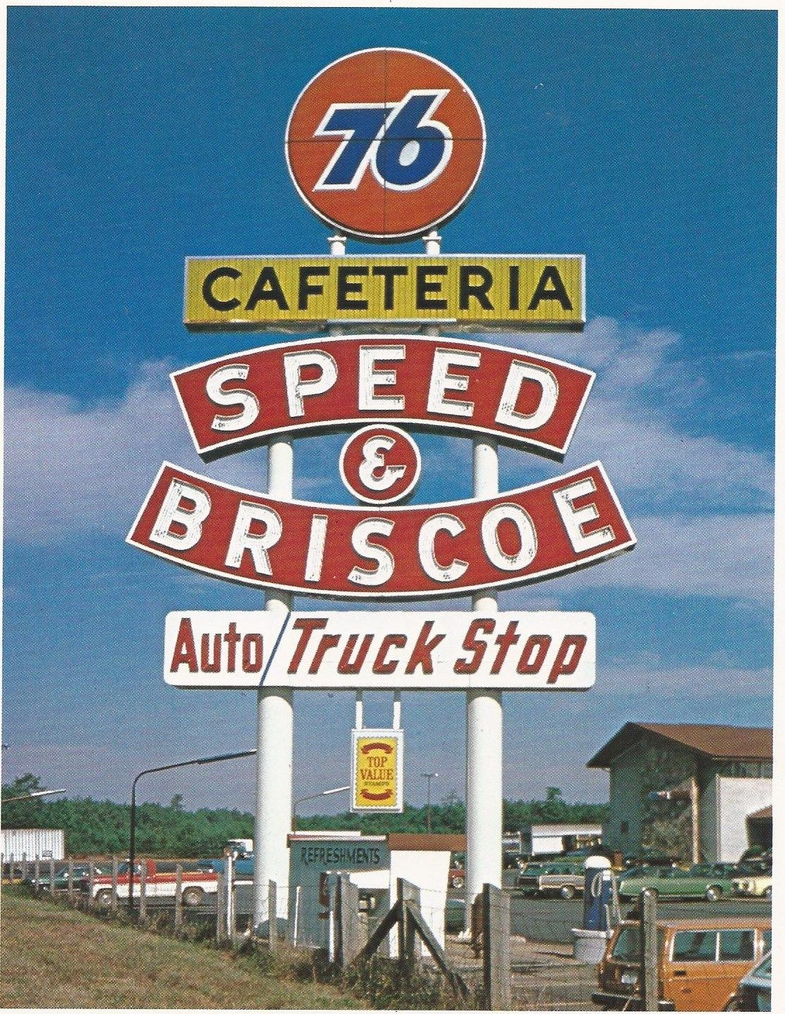 Union 76 Truckstop With Images Old Gas Stations Trucks Big