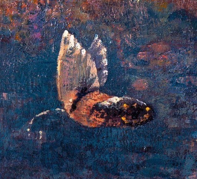 Odilon Redon Butterfly details | Odilon Redon | Pinterest | Odilon ...
