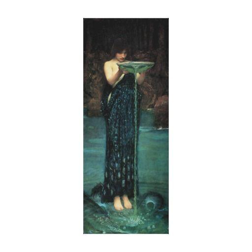 Print John William Waterhouse British Pre Raphalite Circe Invidiosa