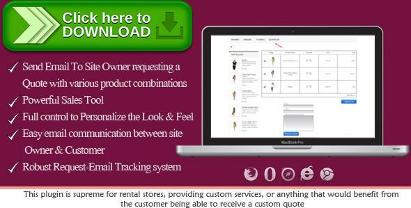 Free nulled Prestashop Request a Quote download Price quote