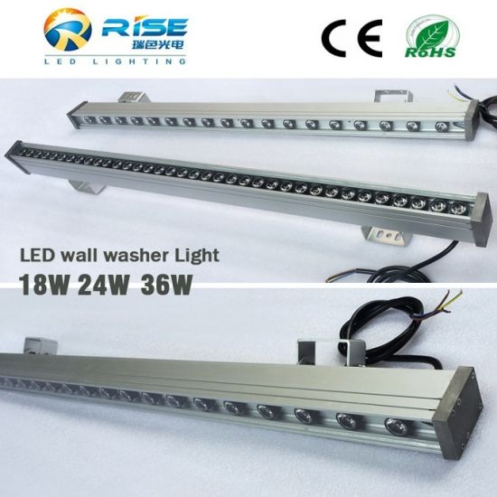 High Quality 24w Outdoor Led Restaurant Wall Washer Lighting Lighting Suppliers Awning Lights Led