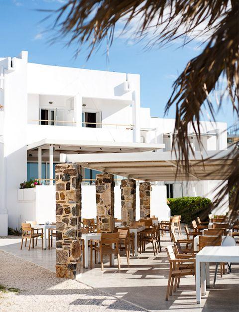 Ammos Hotel, Elegant resort, beach hotel, Agii Apostoloi, Chania, Crete, Greece   garden ...