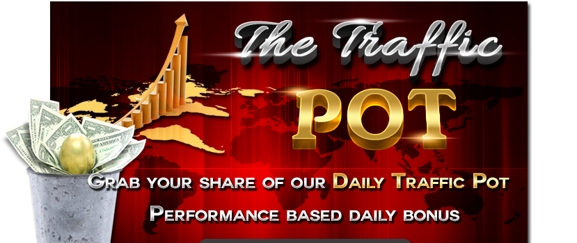 The Traffic Pot just launched! Get your free traffic share daily and earn commissions up to 50%. No surfing required!