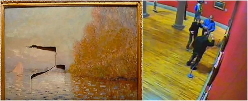 Man Jailed For Punching A Hole Through 10 Million Monet Painting