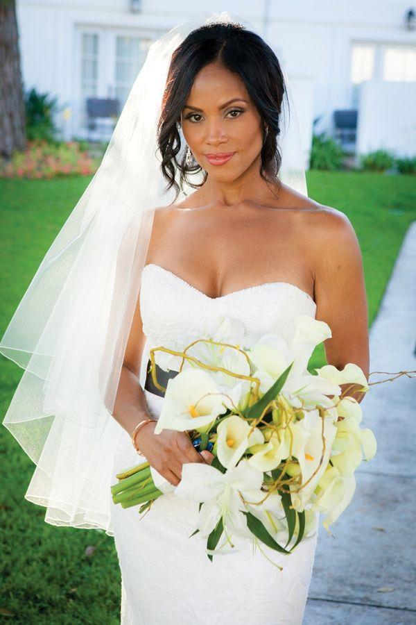 Modern Black And White California Wedding African American