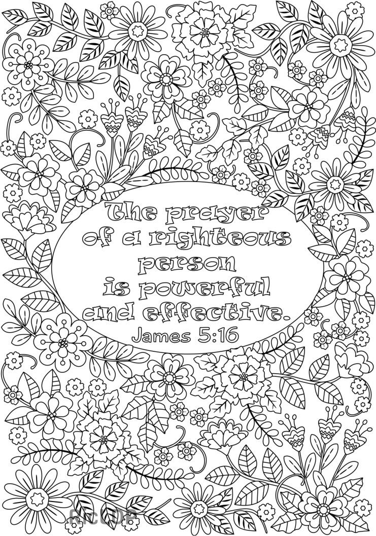 James 516 Coloring Page 13 Bible Verse Pages Bibleverses Christian