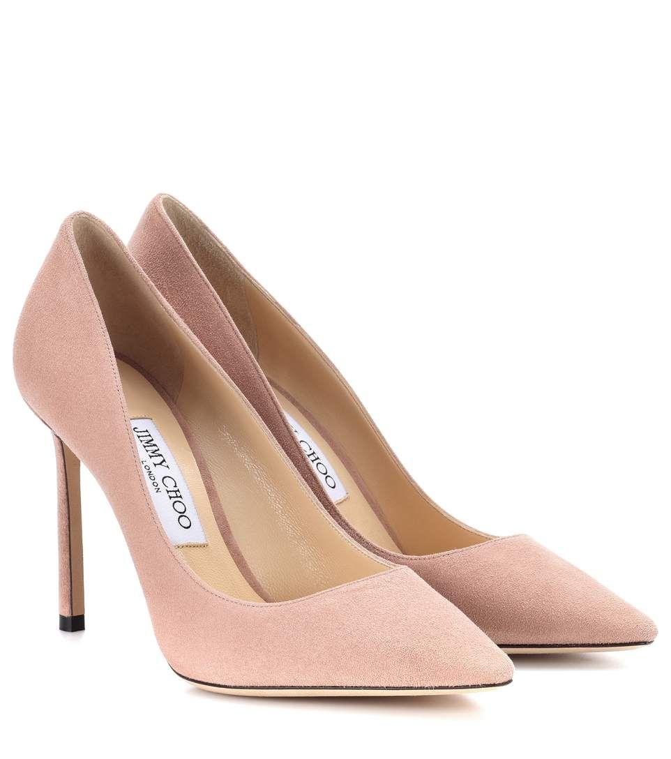 Jimmy Choo Romy 100 Suede Pumps Jimmychoo Shoes Pink High Heel Shoes Manolo Blahnik Heels Jimmy Choo Heels
