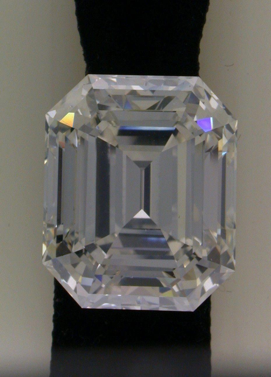 2291ct D If Loose Diamond Emerald Cut Loose Diamond Gia Certified