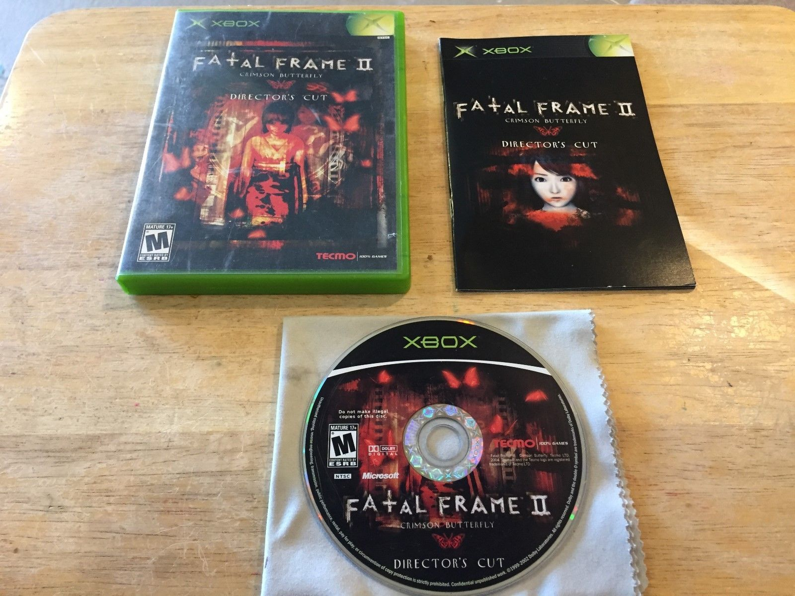 Fatal Frame II The Crimson Butterfly Director\'s Cut Original ...