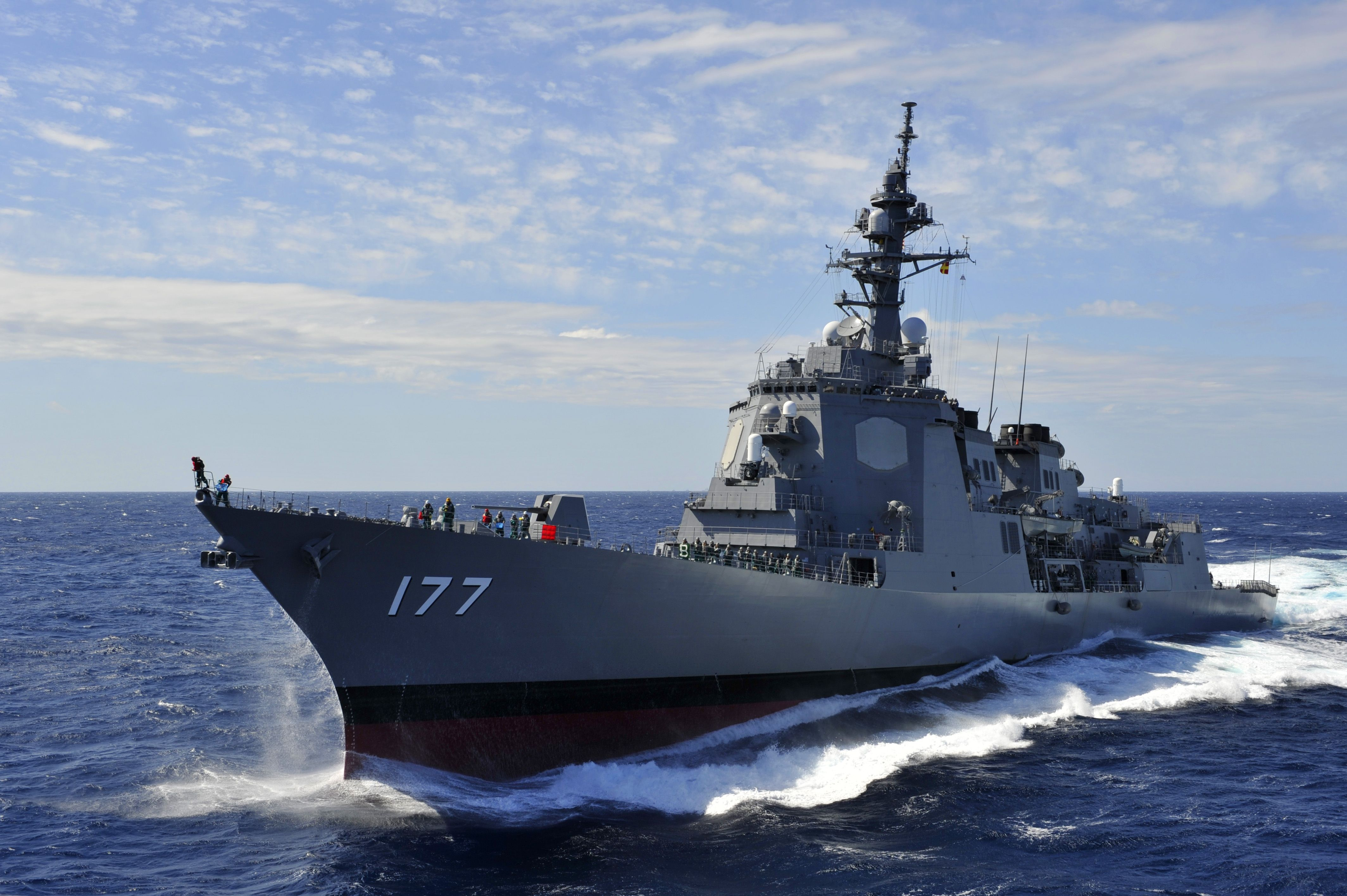 Ddg 177 愛宕 海上自衛隊 艦艇 ガスタービン