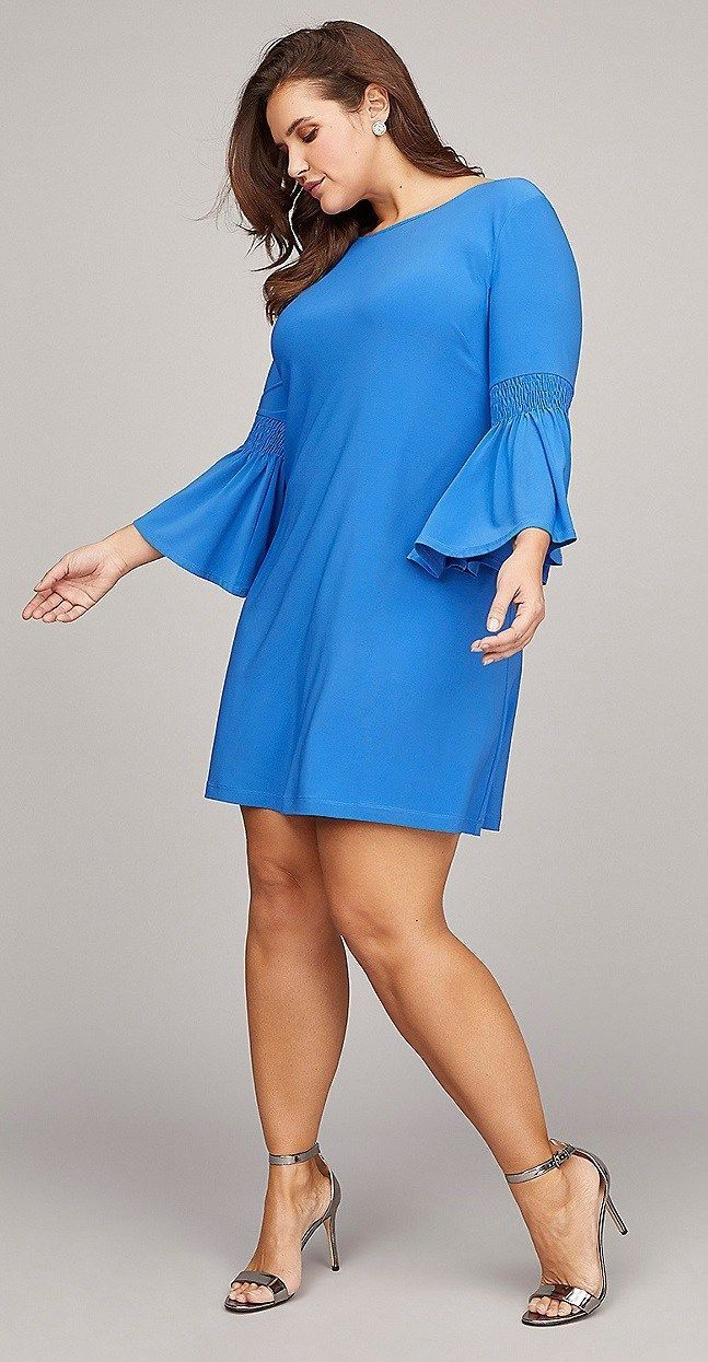 Plus Size Spring Wedding Guest Dresses with Sleeves  Plus Size