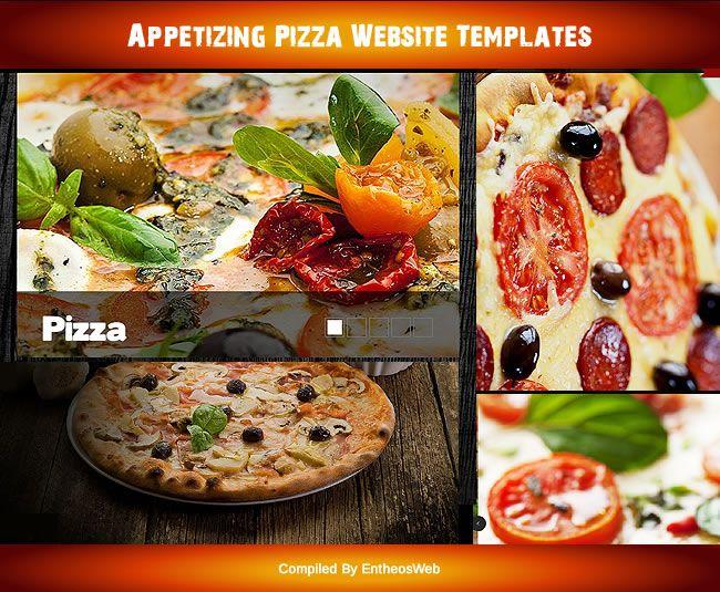 Appetizing Pizza Website Templates Website Template Pizza