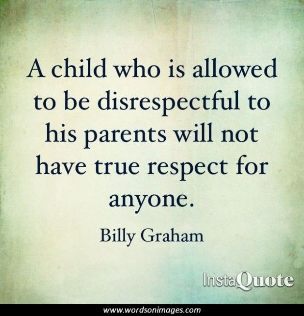 Quotes about Respect your parents (37 quotes)