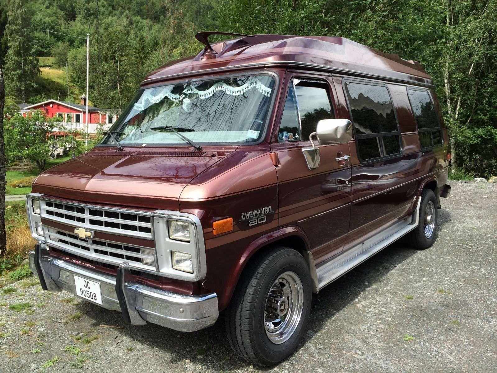 Chevrolet Van G30 6 2d 1991 150 000 Km Kr 75 000