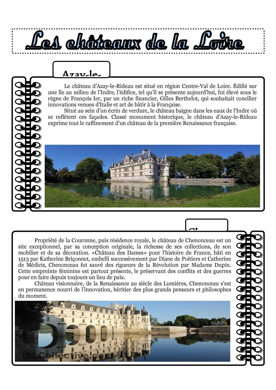 C'est Pas Sorcier Chateaux De La Loire : c'est, sorcier, chateaux, loire, Questionnaire, C'est, Sorcier, Chateaux, Loire