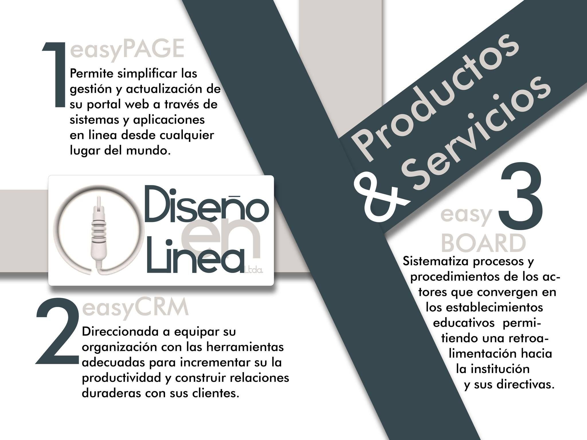 Conoce un poco más de nuestros productos y/o Servicios. #PáginaWeb #DesarrolloWeb #DiseñoWeb #SaaS #easyPage #easyBoard #ecommerce
